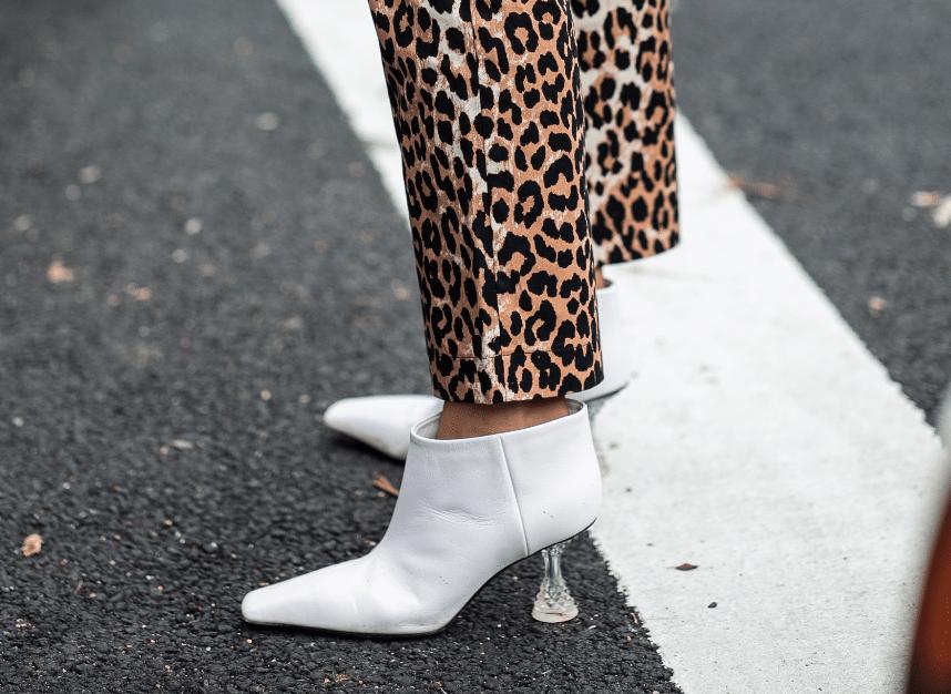 Heuritech leopard pants