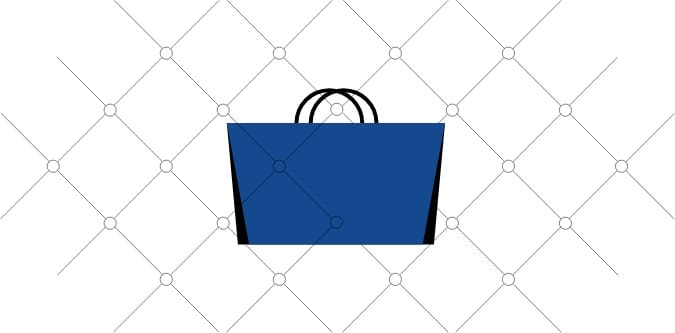 Blug bag illustration