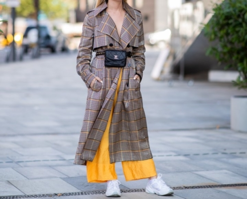 Plaid Coat Heuritech