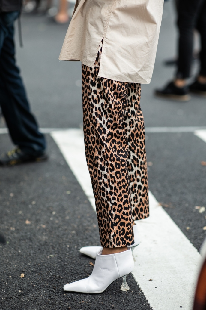 leopard print fashion week