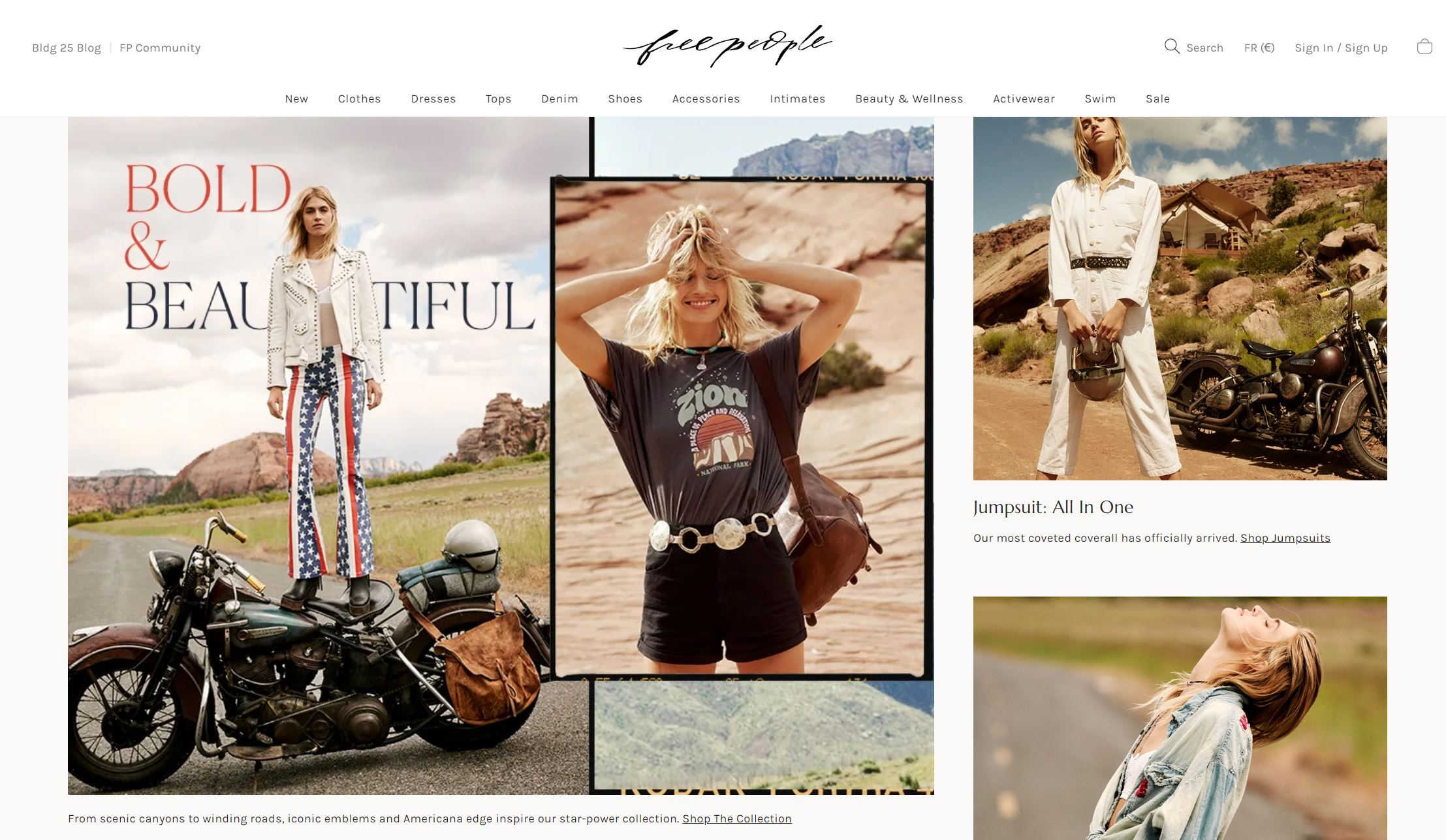 Free people lifestyle