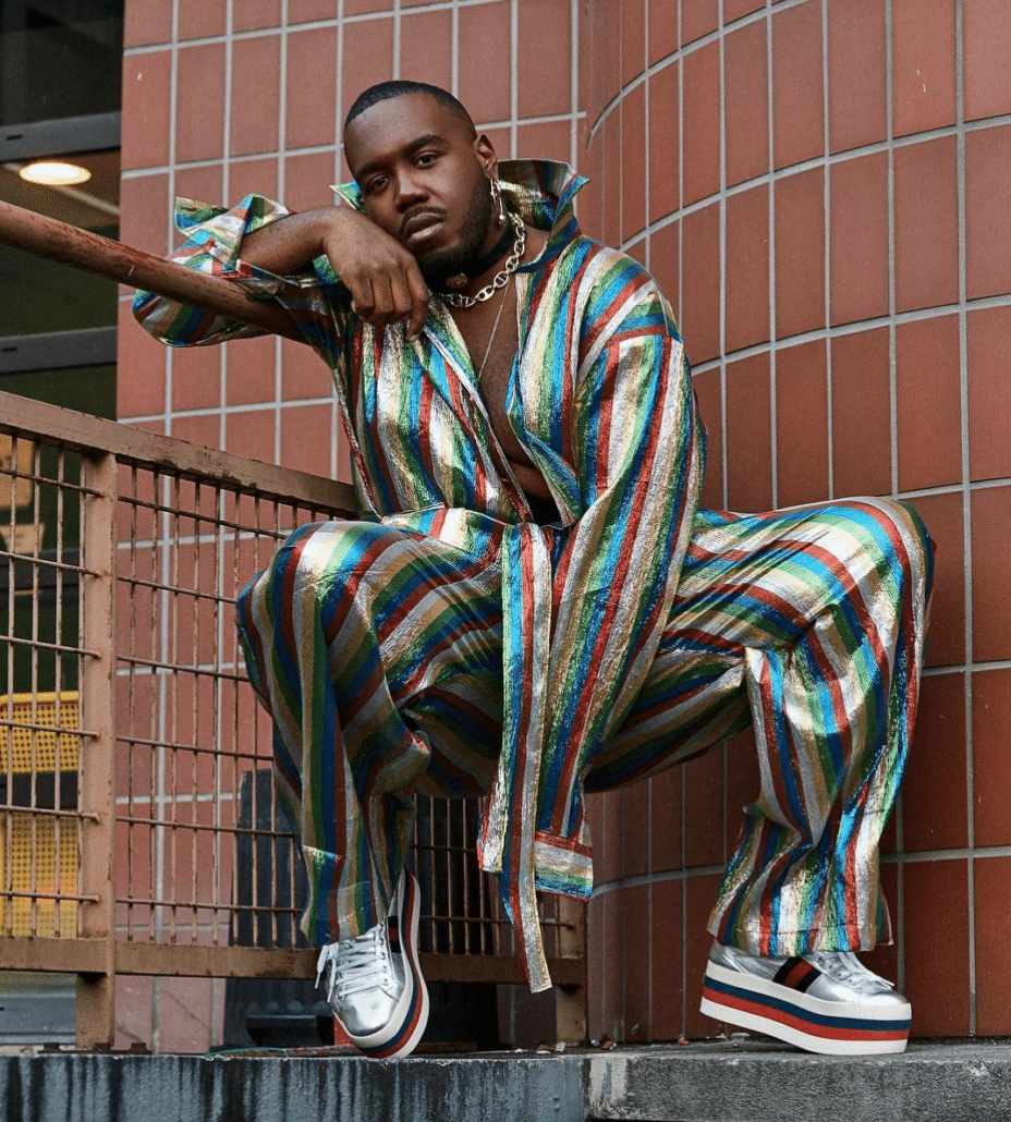 Gucci platform sneakers worn by kiddysmile