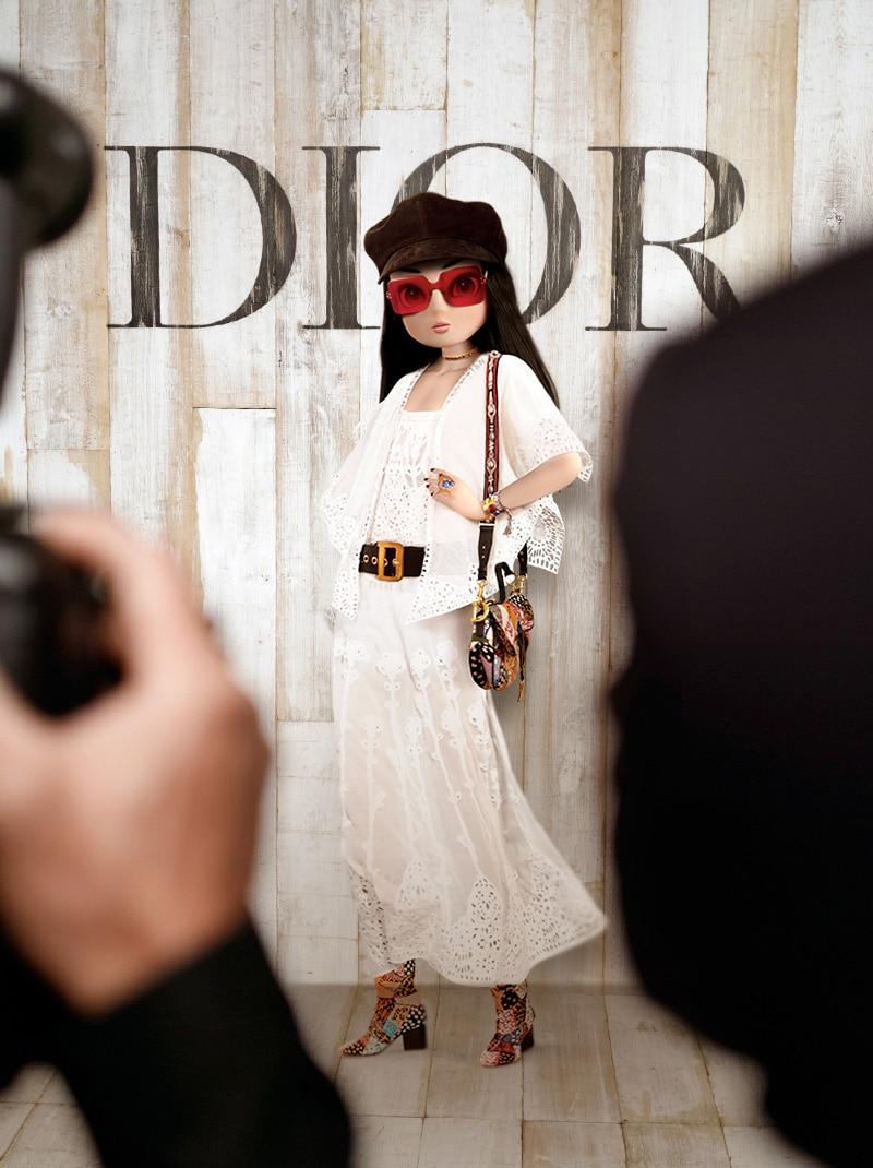 Noonoouri - Dior Cruise Show