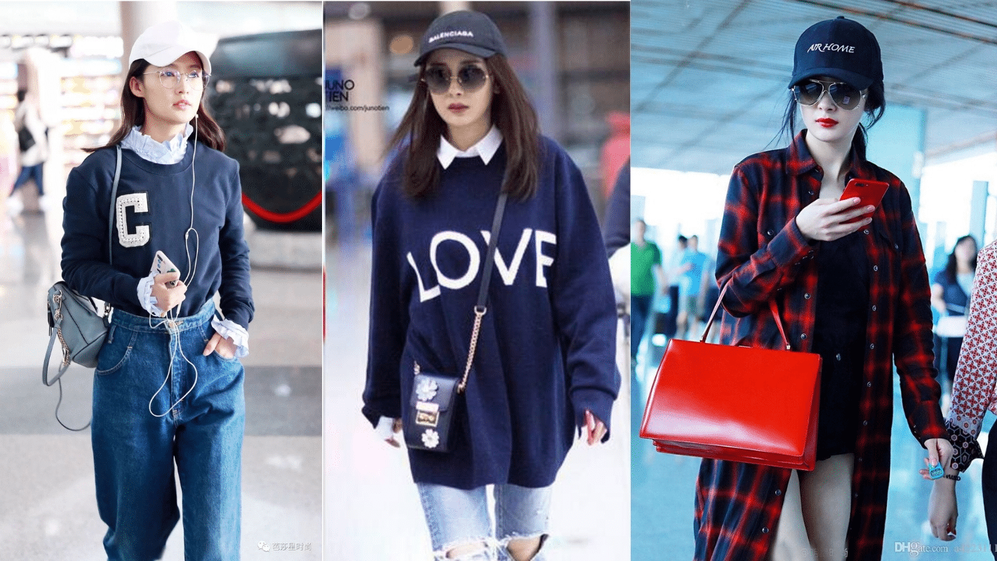Yang Mi - China streetwear on social media