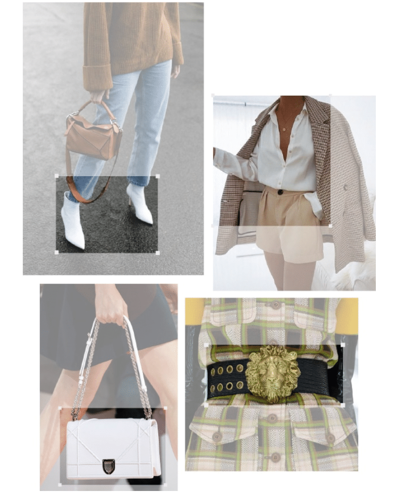 Heuritech image recognition technology is applied to fashion images