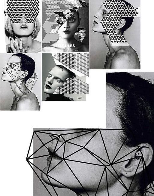 Collage by I-D Magazine