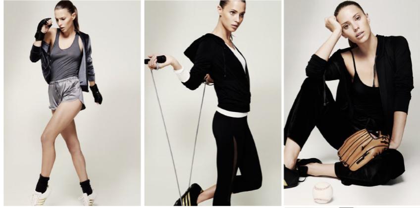 Adidas x Oysho collection women's activewear