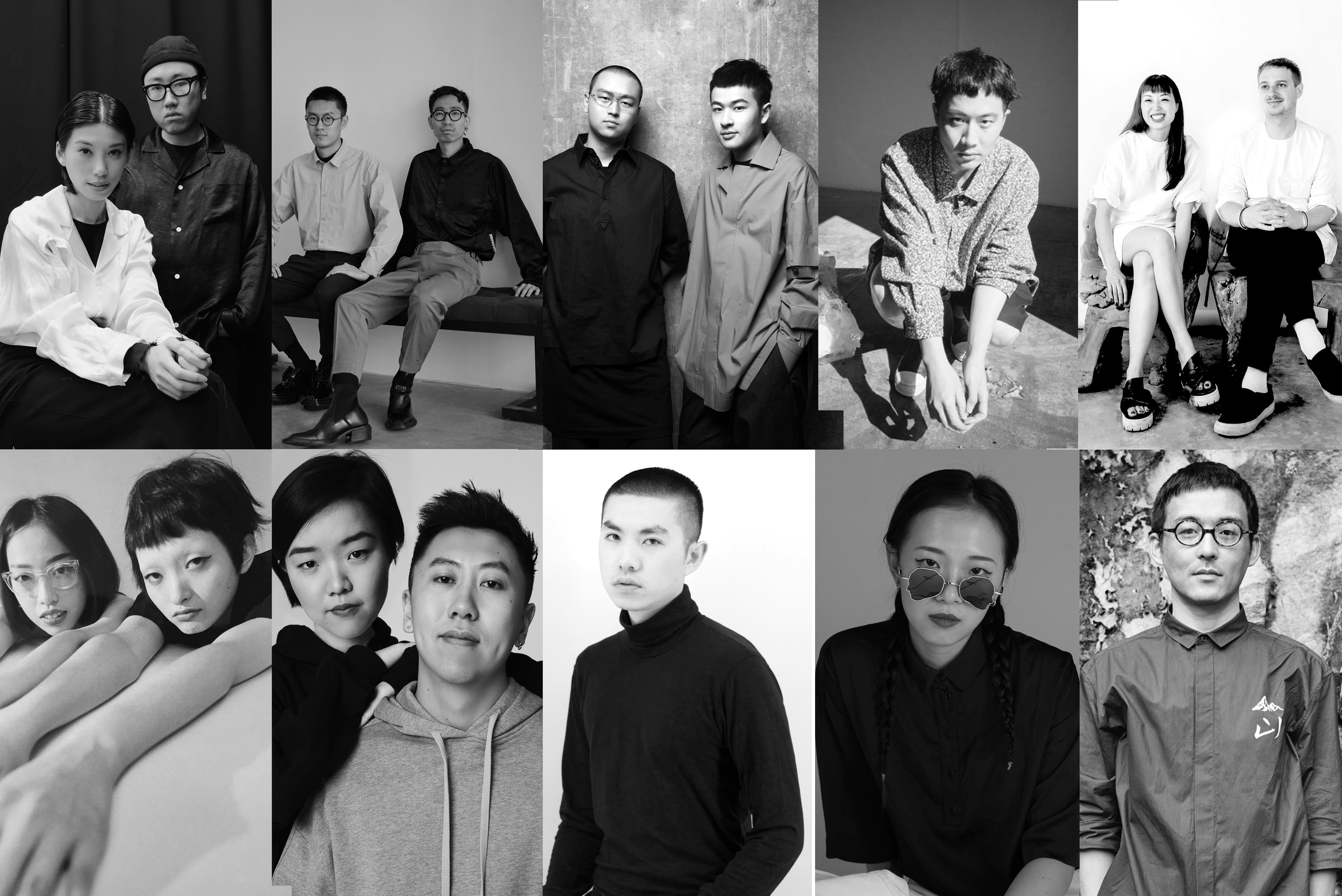 Tianwei collage of local Chinese designers