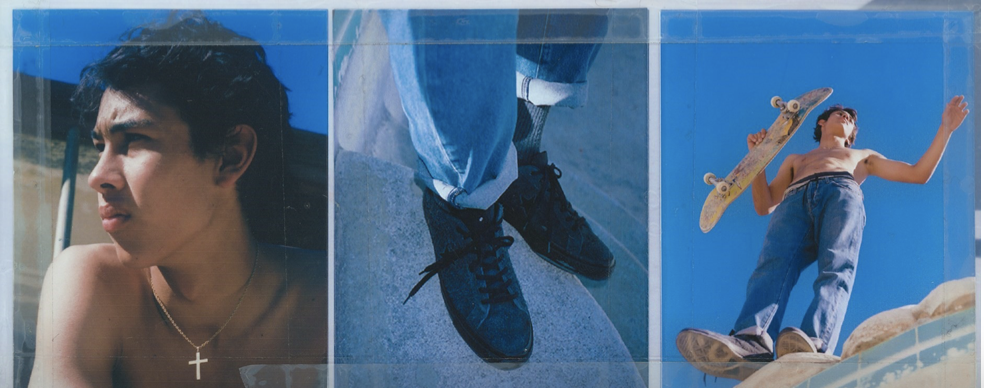 Dexter Navy for Stussy x Converse