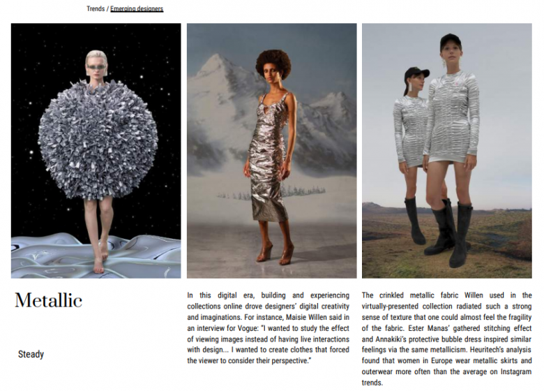 Fashion Rejuvenation Report Extract