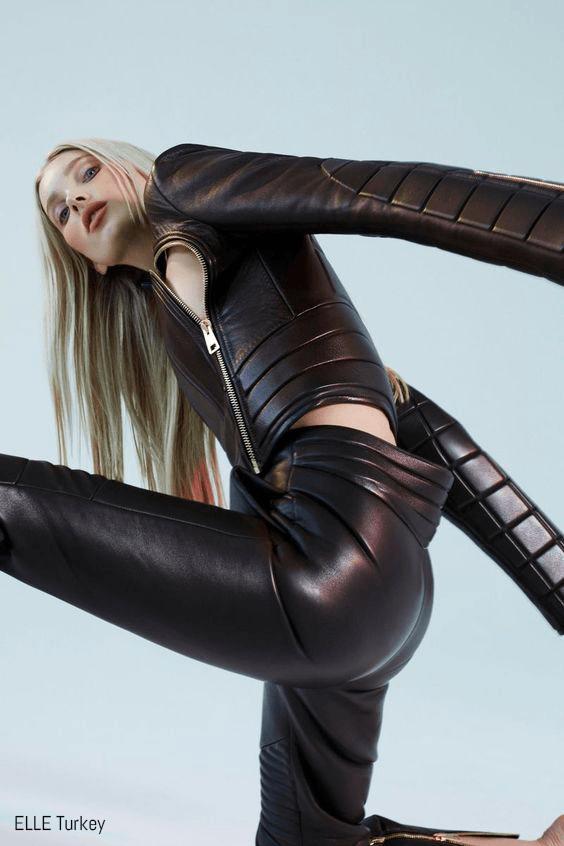 Elsa Hosk poses for ELLE Turkey