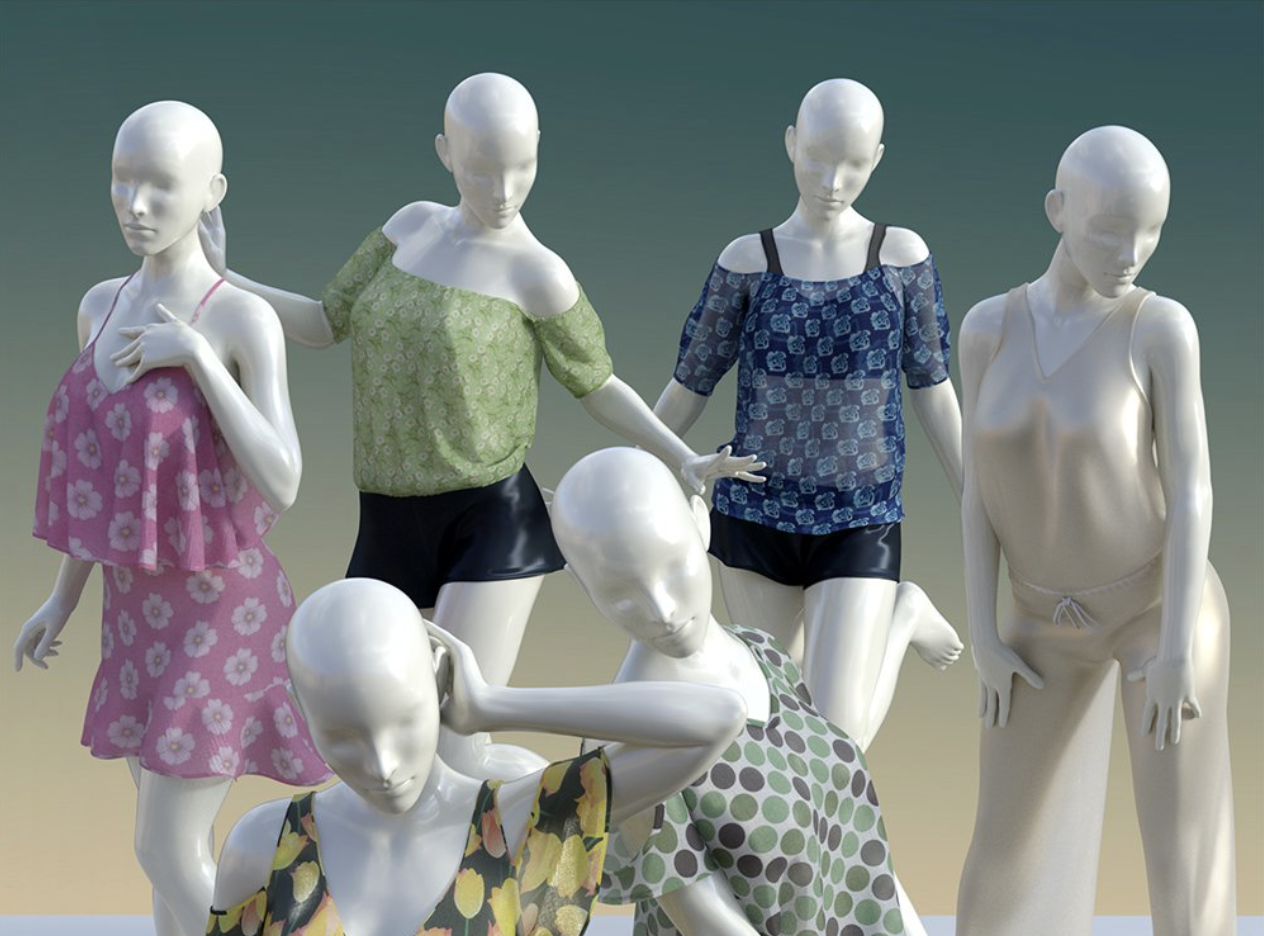 Daz 3D virtual models